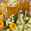 Chamomile tea — Stock Photo #26942259