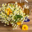 Chamomile tea — Stock Photo #26942277