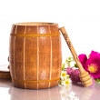 Flower honey — Stock Photo