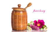Flower honey — Stock Photo