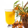Sea buckthorn tea — Stock Photo #29793599