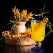 Sea buckthorn tea — Stock Photo #29793685