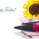 Teacher's Day! — Stock Photo