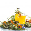 Sea buckthorn tea — Stock Photo #30345435