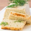 fish souffle — Stock Photo