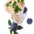 Plum smoothie — Stock Photo #30490851