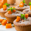 Pumpkin muffins — Stock Photo #30723385