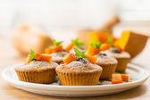 Muffin alla zucca — Foto Stock