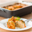 Chicken meatballs — Stock Photo