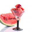 Watermelon cocktail — Stock Photo
