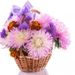 Stock Photo: Aster bouquet