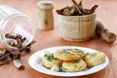 Potato croquettes — Stock Photo