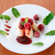 Fruit Panna Cotta — Stock Photo #31538549