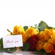 Yellow and red roses — Stock Photo #33111103