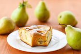 Pear pie — Stock Photo