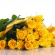 Yellow rose — Stockfoto