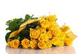 Yellow rose — Foto Stock