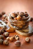Hazelnut — Stock Photo