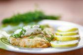 Fried fish — Stock Photo