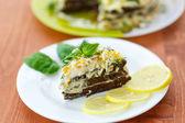 Liver cake — Stock Photo