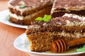 Honey cake — Stock Photo