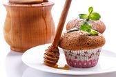 Honey muffins — Stock Photo