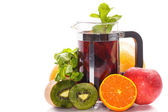 Fruit tea — Stock Photo