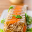 Meat aspic — Stock Photo
