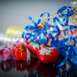 Christmas decorations colored — Foto de Stock