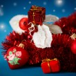 Christmas decorations colored — Lizenzfreies Foto