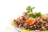 Boiled buckwheat — Stock Photo