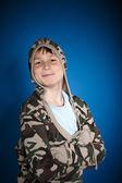 Cheerful teenager — Stock Photo