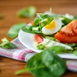 Summer salad with egg — Stock Photo #38903467