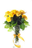 Yellow roses — Stockfoto