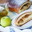 Sweet strudel with apples — Stock Photo #41186929
