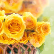 Beautiful yellow rose — Stock Photo #41379309