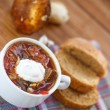 Soup with mushrooms — Stock Photo #41380037