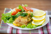 Fish fried — Stock Photo