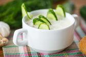 黄瓜汤 — 图库照片