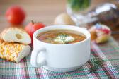 Vegetable soup — Stockfoto