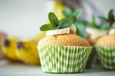 Banana muffins — Stock Photo
