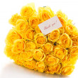 Beautiful yellow rose  — Stock Photo #46651873