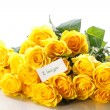 Beautiful yellow rose  — Stock Photo #46651875