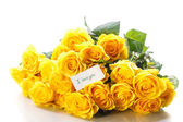 Beautiful yellow rose  — ストック写真