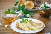 Sweet delicious pancakes — ストック写真