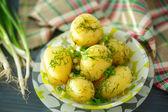 Boiled potatoes — Stock Photo