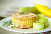 Zucchini muffins — Stock Photo