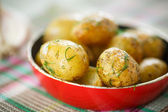 Roasted new potatoes — Stock Photo