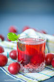 Plum compote — Stock Photo