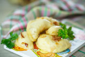 Dumplings stuffed with — Stock Photo